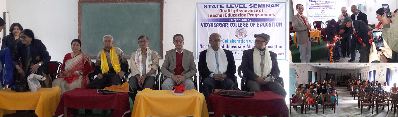 Seminar at Vidyasagar College of Education,  Pansidewa on 4th Feb 2019 on 4 yrs. Integrated B.Ed. Course
