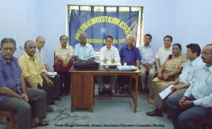 Meeting of Executive Committee on 6.6.11.