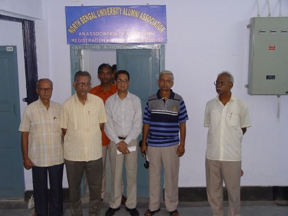 Inauguration of the Office Room of NBUAA in the Administrative Building Annexe in March,2010.